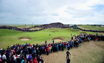 6th hole at Royal St George's