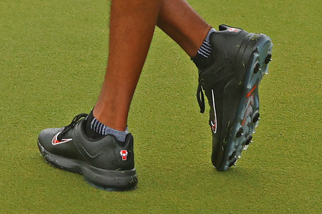 Tiger Woods wears TW20 Frank Edition shoes at The Match