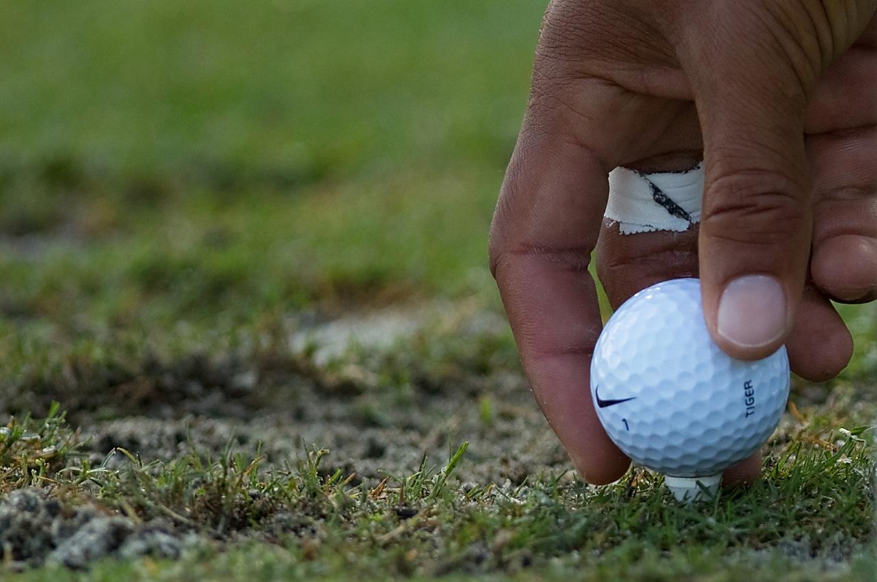 Tiger Woods Nike golf ball
