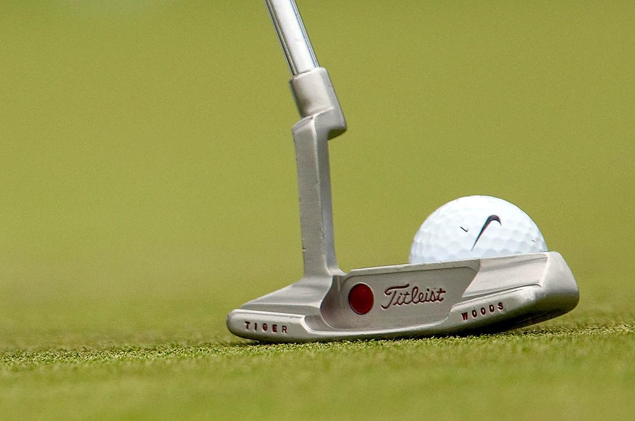 Tiger Woods's putter
