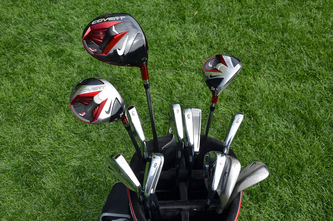 Tiger Woods equipment at 2013 PGA Championship