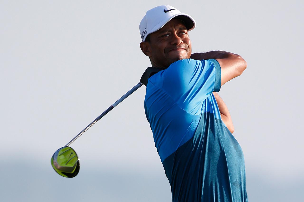 Tiger Woods driver at 2015 PGA Championship