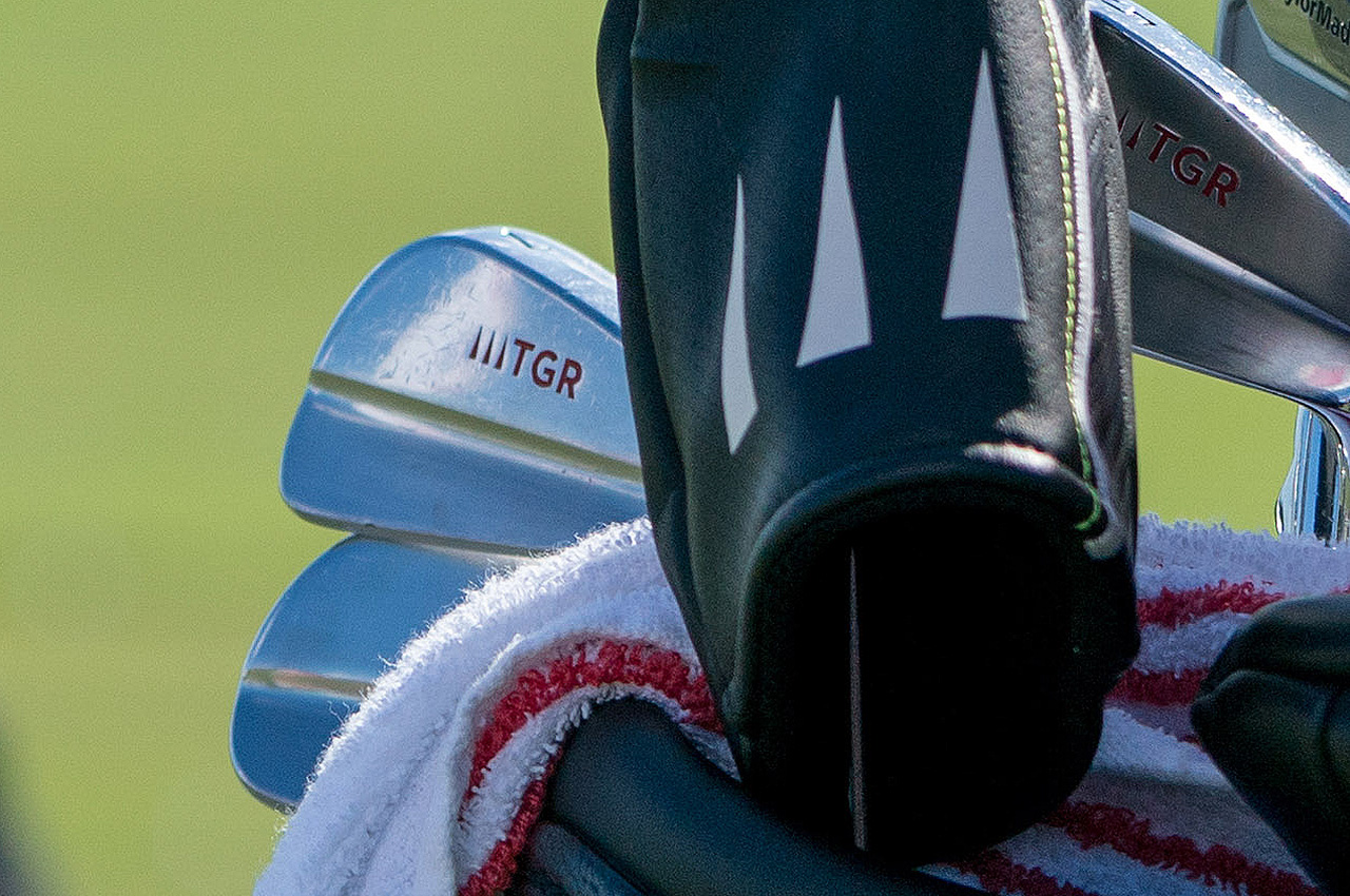 Tiger Woods irons at 2017 Hero World Challenge