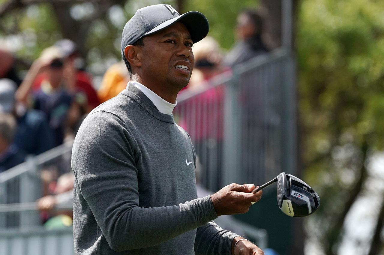 Tiger Woods at 2018 Valspar Championship