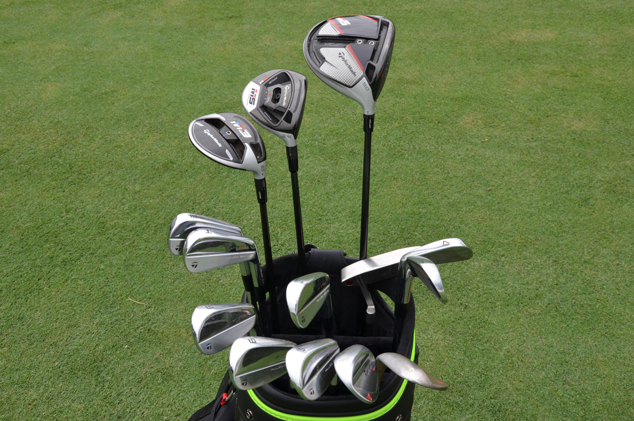 Tiger Woods TaylorMade equipment in 2019