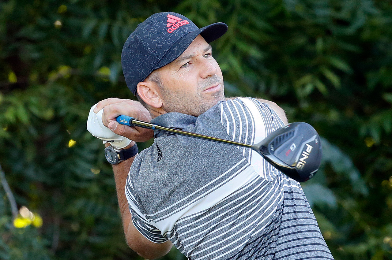Sergio Garcia's Ping G410 LST driver