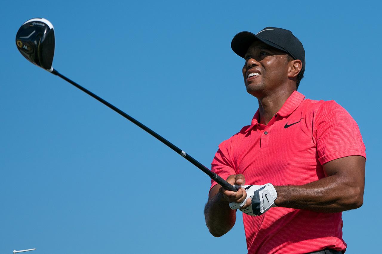 Tiger Woods's driver at 2017 Hero World Challenge