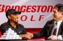Tiger Woods signs with Bridgestone