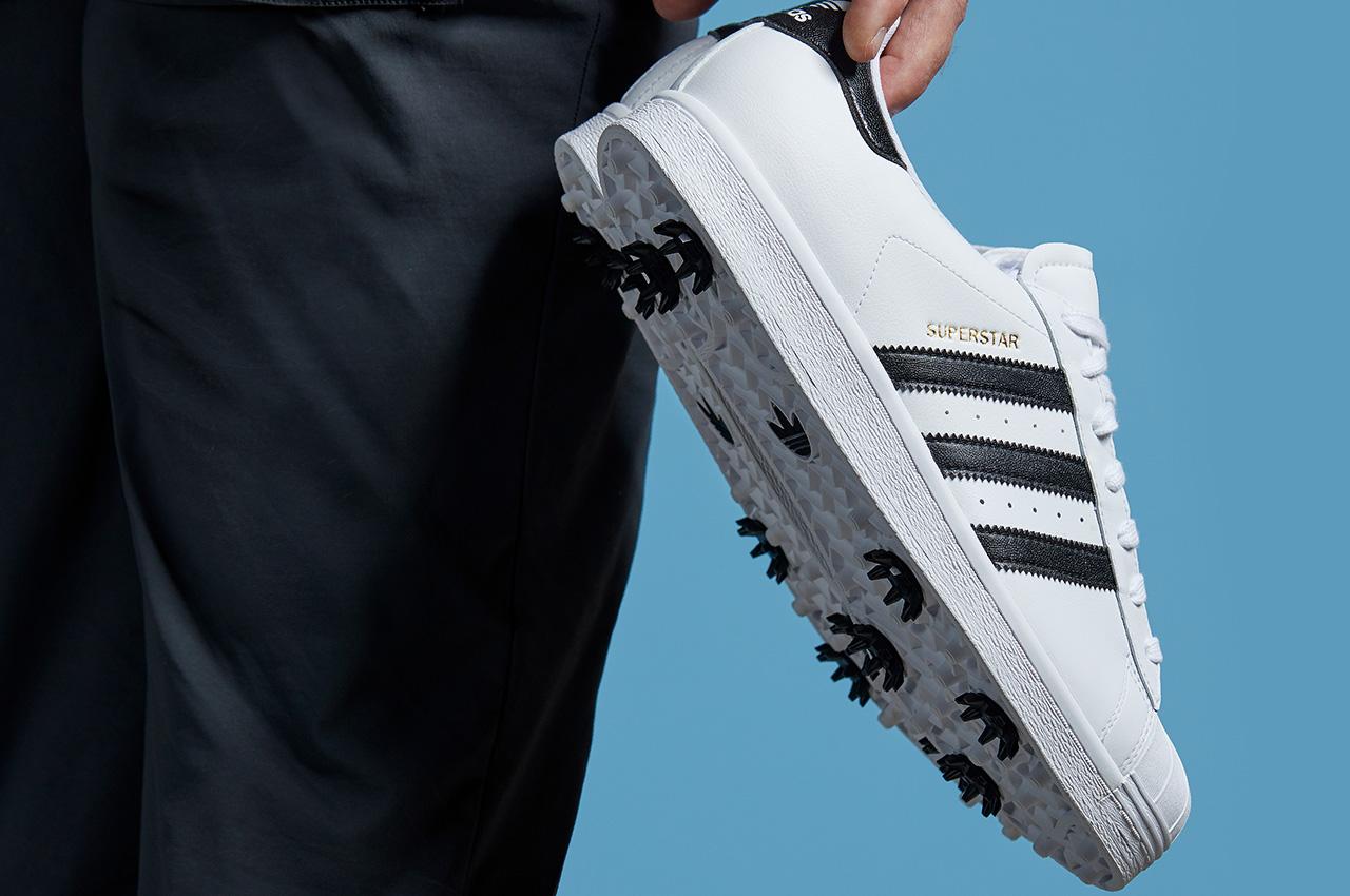 Adidas Superstar golf shoes