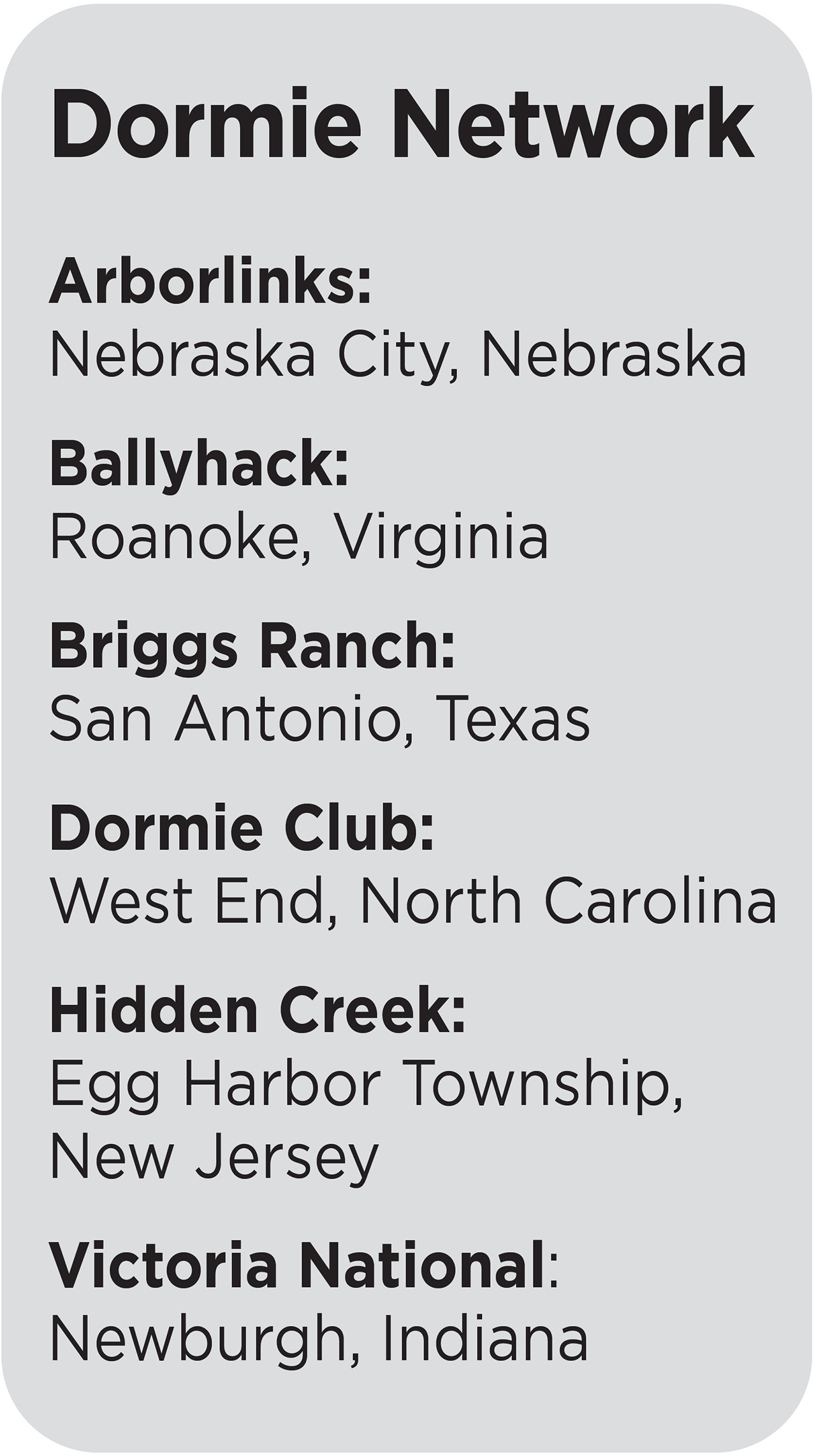 Golfweek's Best: Dormie Network is one club with many nationwide opportunities