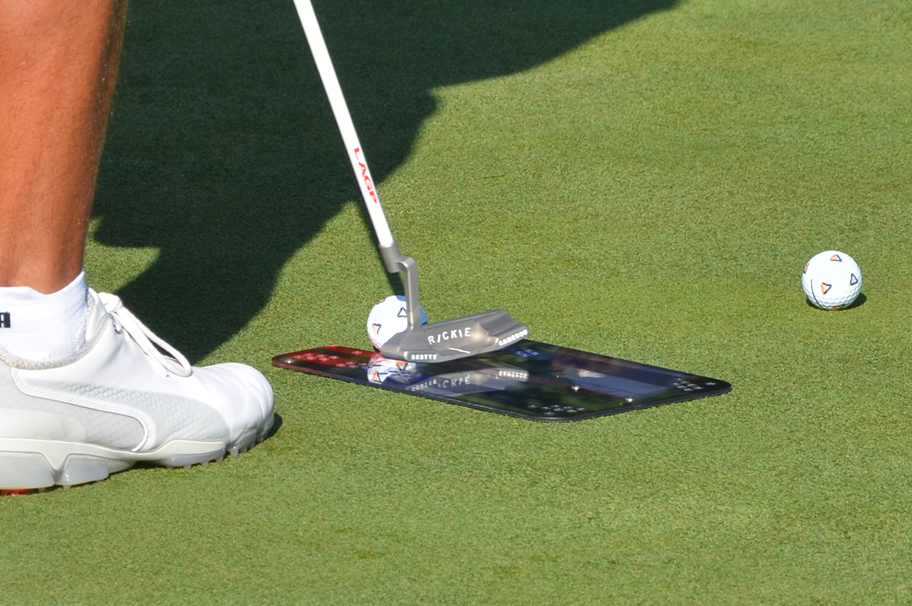 Rickie Fowler's putter
