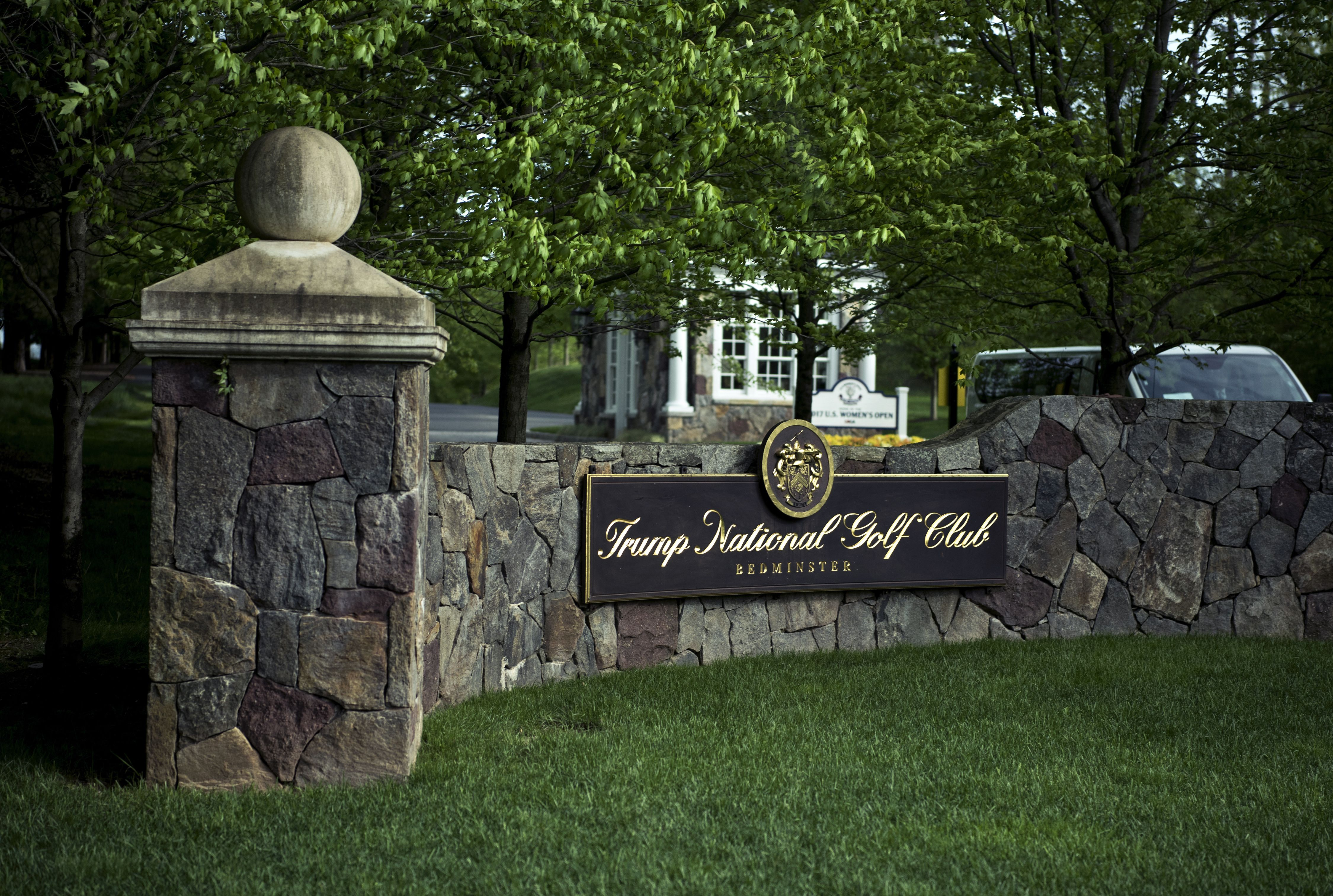 Trump National Golf Club in Bedminster