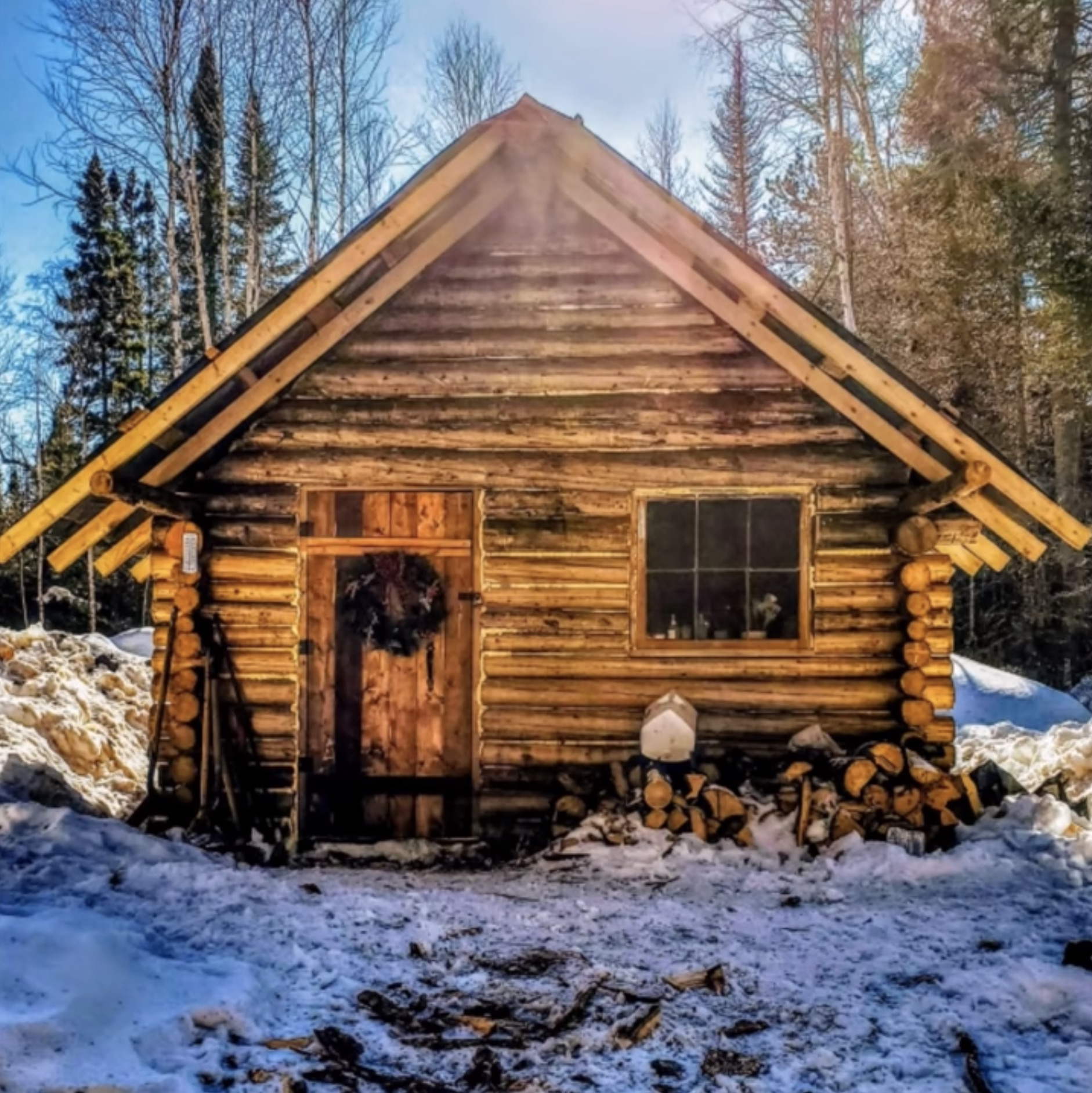 Mortgage Free At 24 Years Old Minnesota Off Grid Cabin Living Unofficial Networks