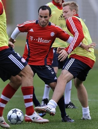 Landon Donovan Bayern 1 (AP)