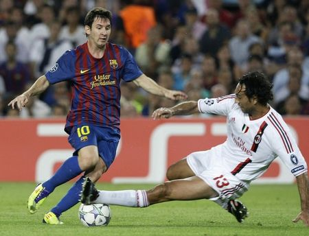 MessiMilan (Reuters Pictures)