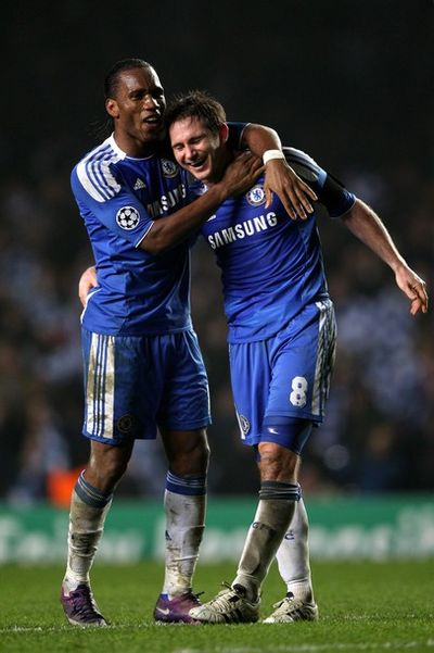 Drogba Lampard Chelsea (Getty Images)