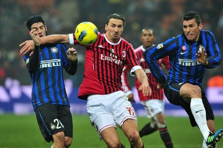 Inter and ac milan getty