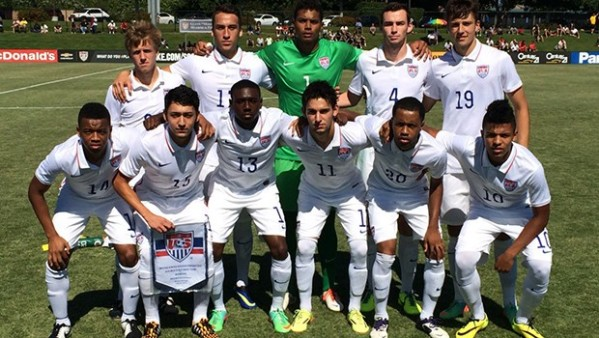 U.S. U-20 MNT team photo