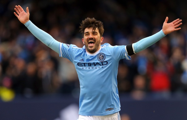 David Villa New York City FC 39