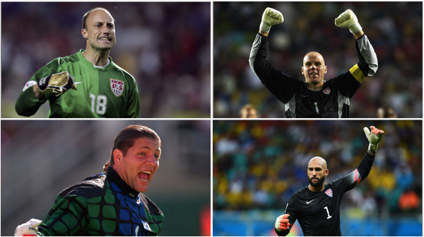 American Goalkeepers Collage