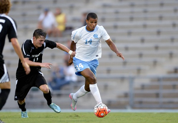 With career advice from Jamaican national team captain Rodolph Austin and UNC head coach Carlos Somoano, Omar Holness knows his future is bright, no matter where he ends up.