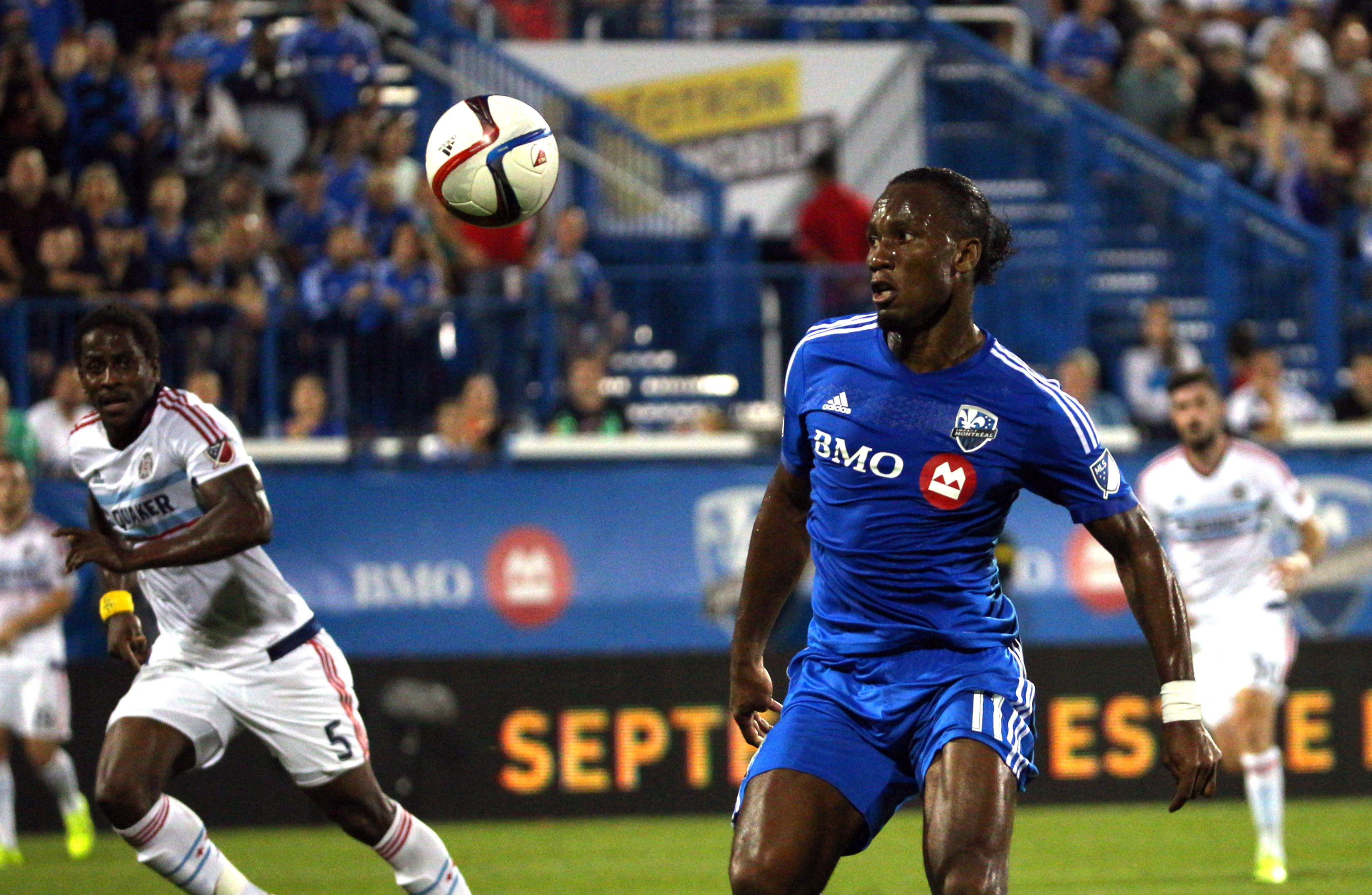 MLS: Chicago Fire at Montreal