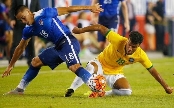 Bobby Wood USMNT Brazil 21