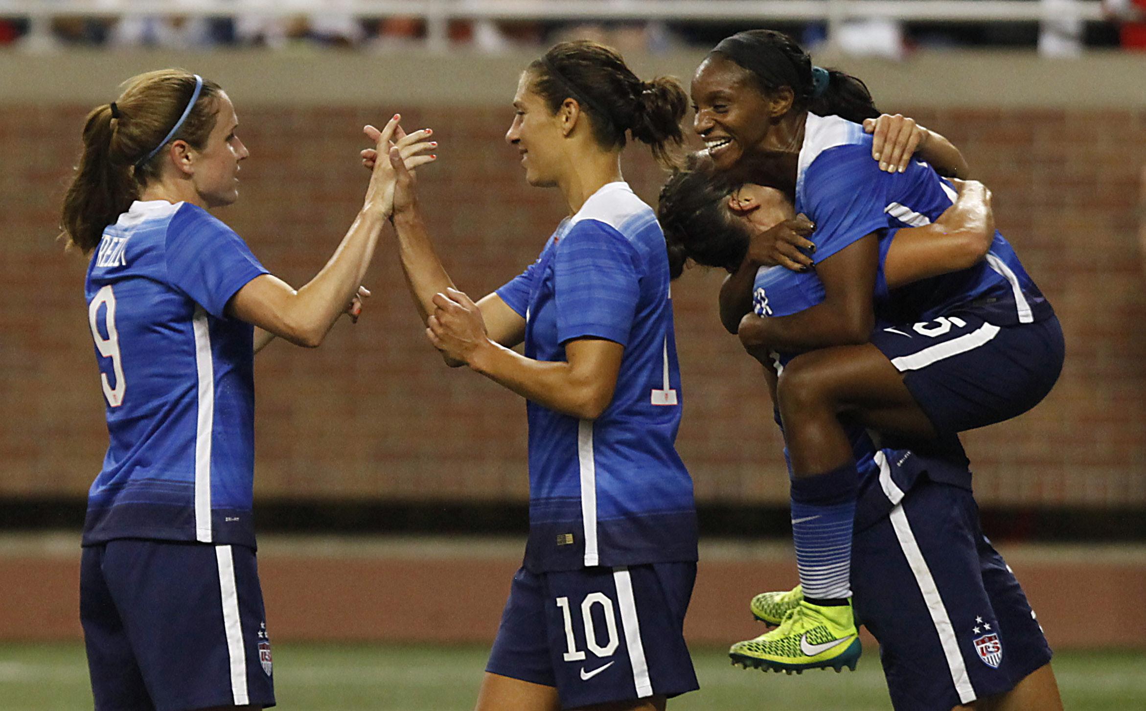 Soccer: Post WWC Tour-Haiti at USA