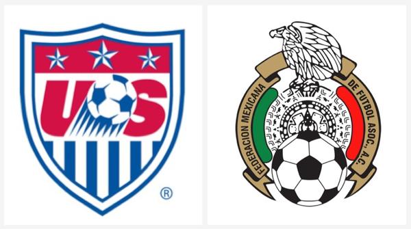 USA Mexico Logo Panels