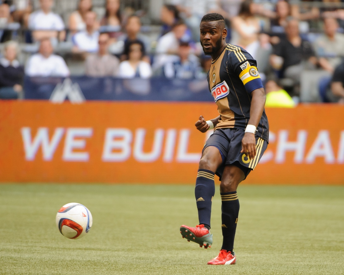 Philadelphia Union captain Maurice Edu has undergone season-ending surgery to repair a sports hernia.