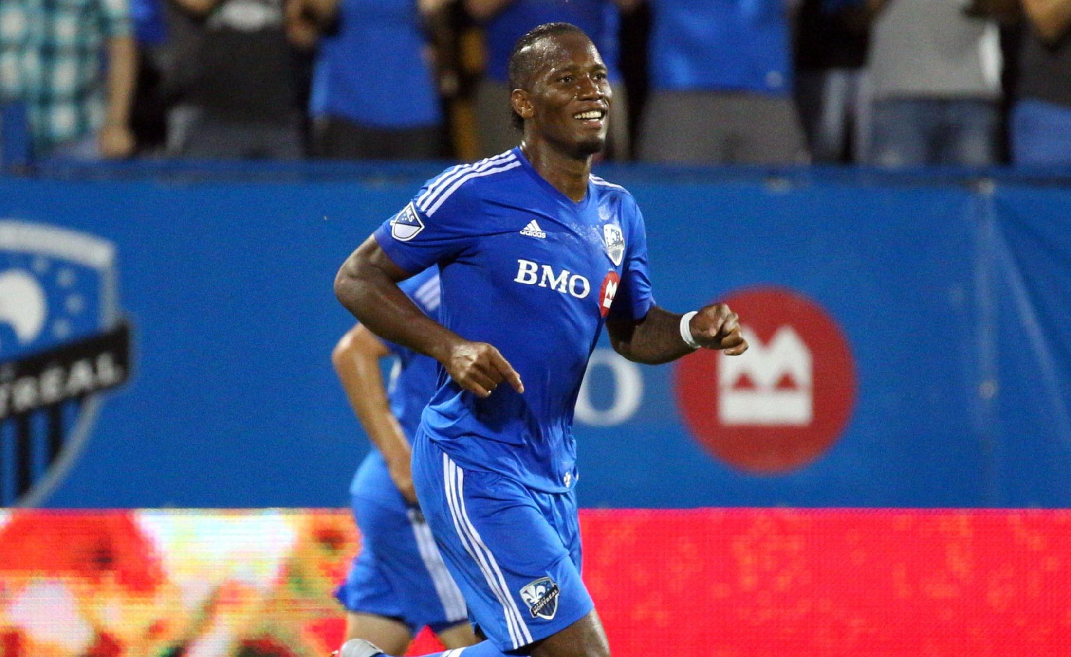 Didier Drogba Montreal Impact 22