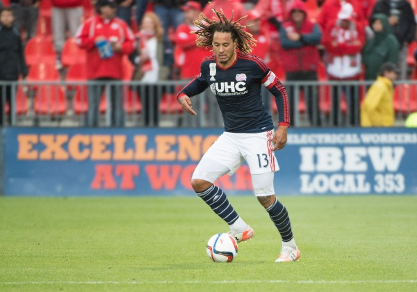 Jermaine Jones New England Revolution 32