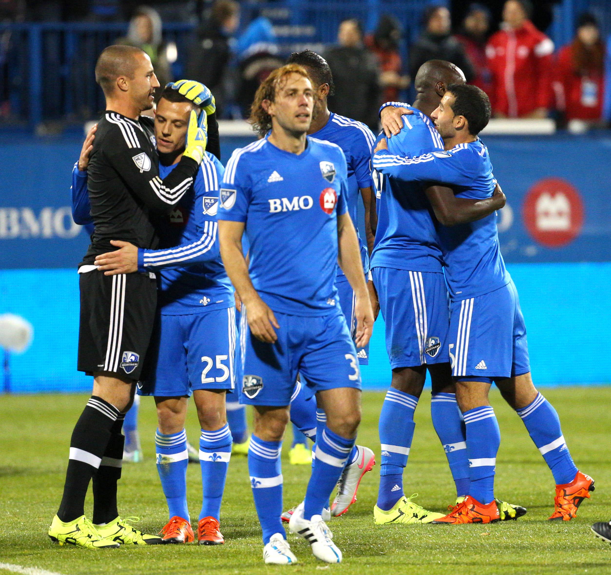 Montreal Impact celebration 27