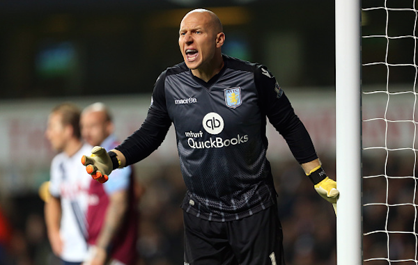 Brad Guzan Aston Villa 33