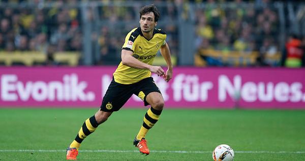 Mats Hummels Borussia Dortmund 34