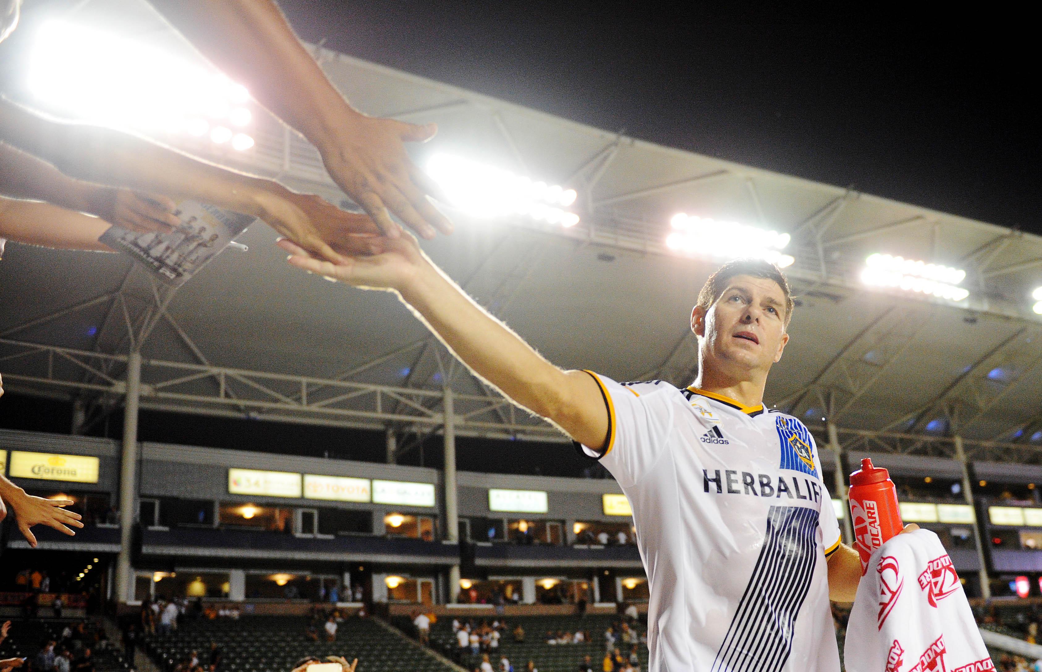 Steven Gerrard LA Galaxy 17