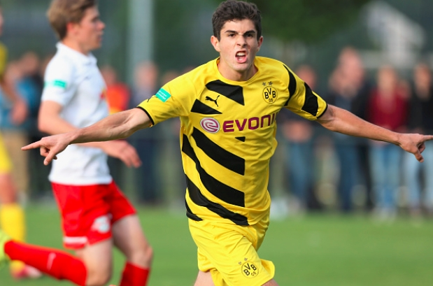 Christian-Pulisic-BVB-Getty-Images