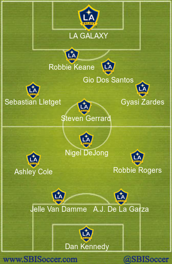 LA Galaxy XI
