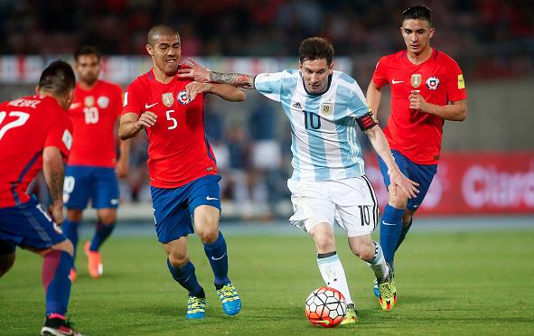 Leo Messi Argentina Chile 22