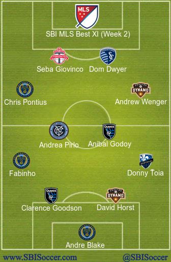 SBI MLS Best XI (Week 2)