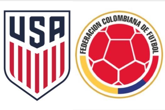 2016 USA Colombia Logo Panel