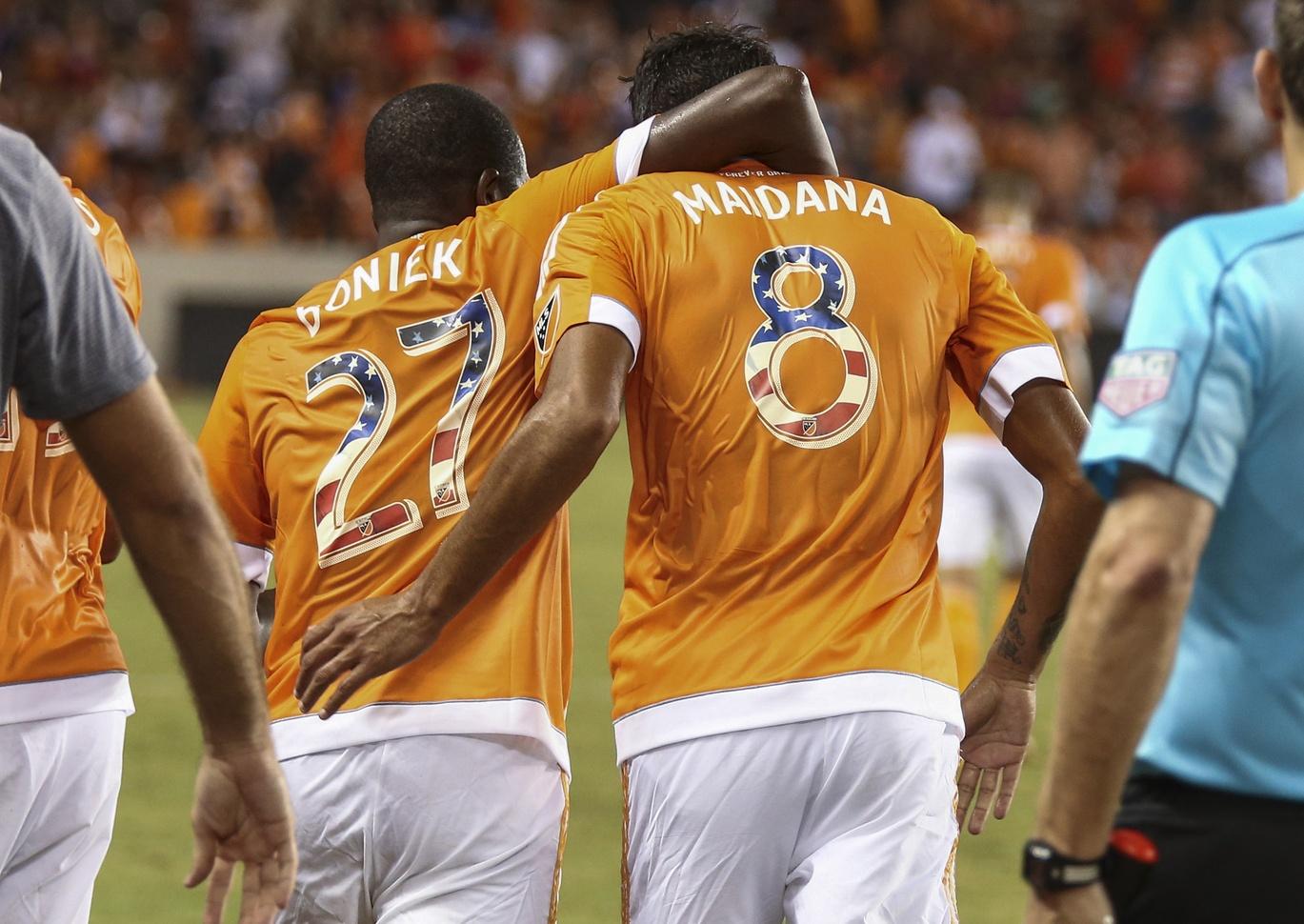 Cristian Maidana Houston Dynamo (USA TODAY Sports)