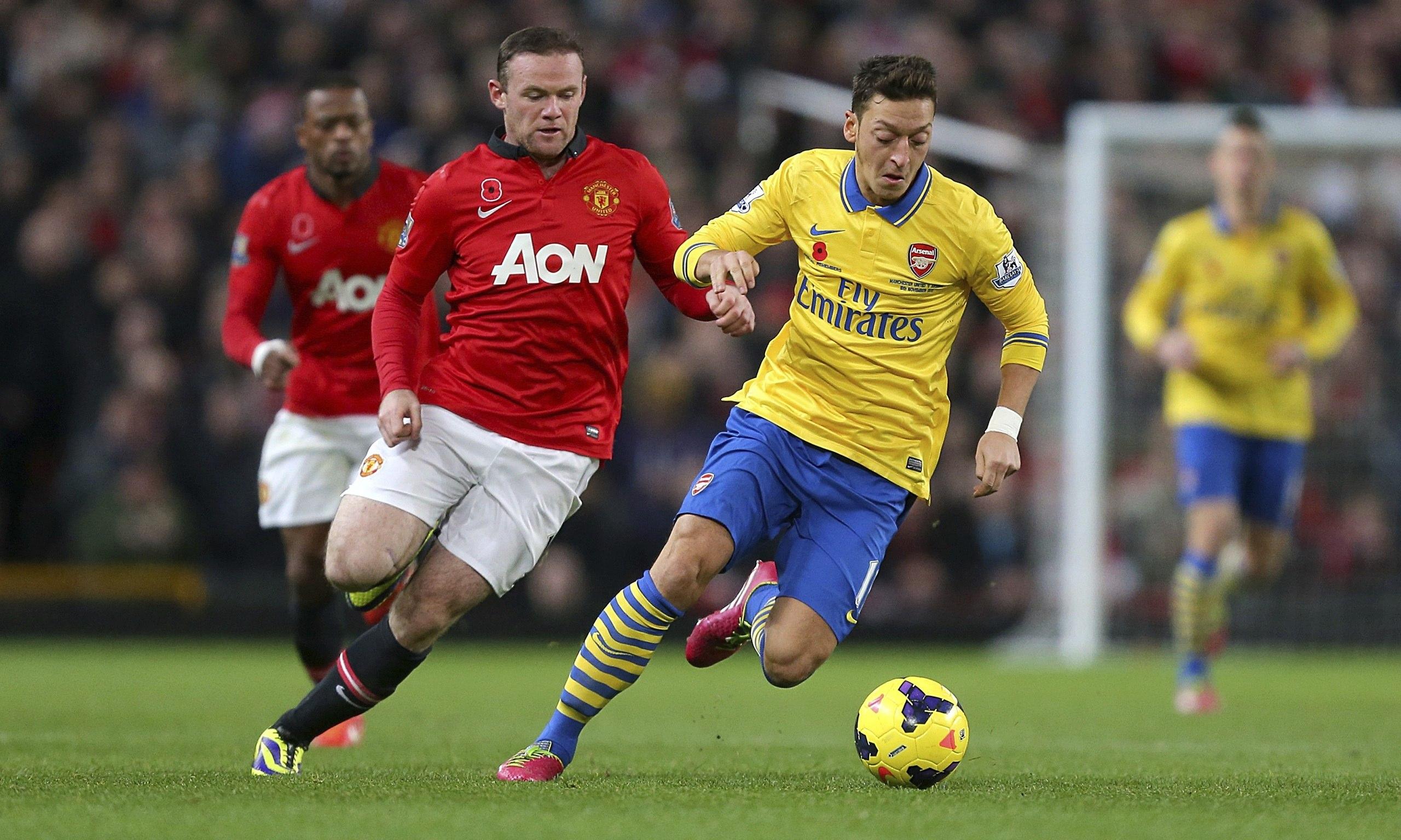 Manchester-United-Arsenal-Wayne-Rooney