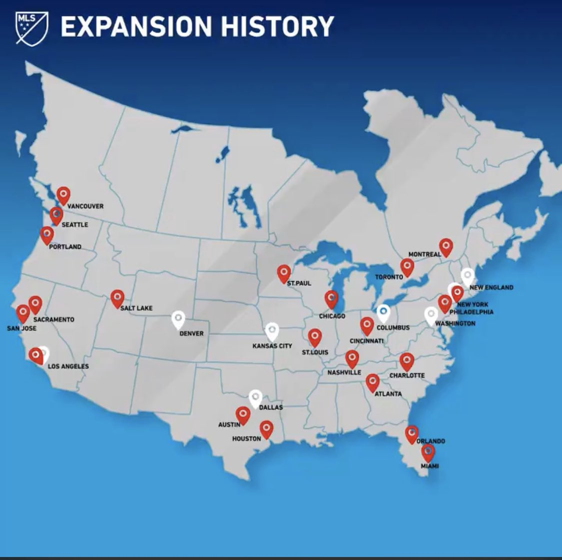 a closer look at the next possible mls expansion markets sbi soccer possible mls expansion markets
