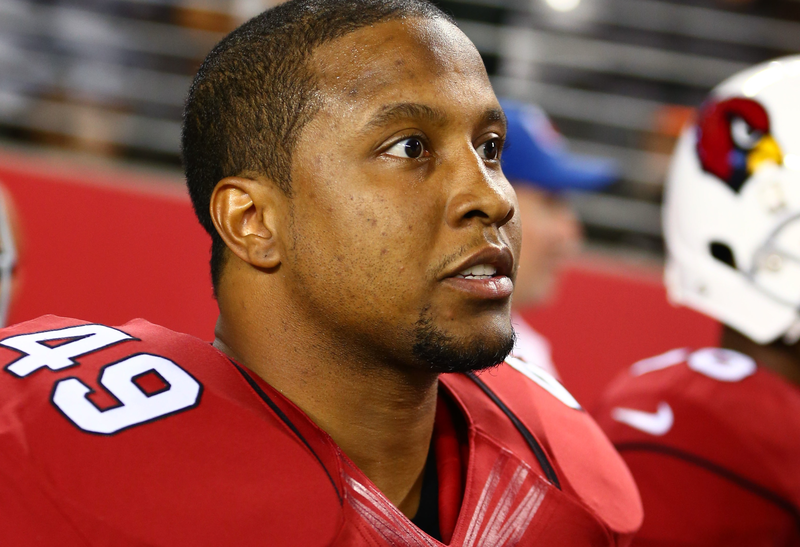 Cardinals' Rashad Johnson shares a picture of his severed finger ...