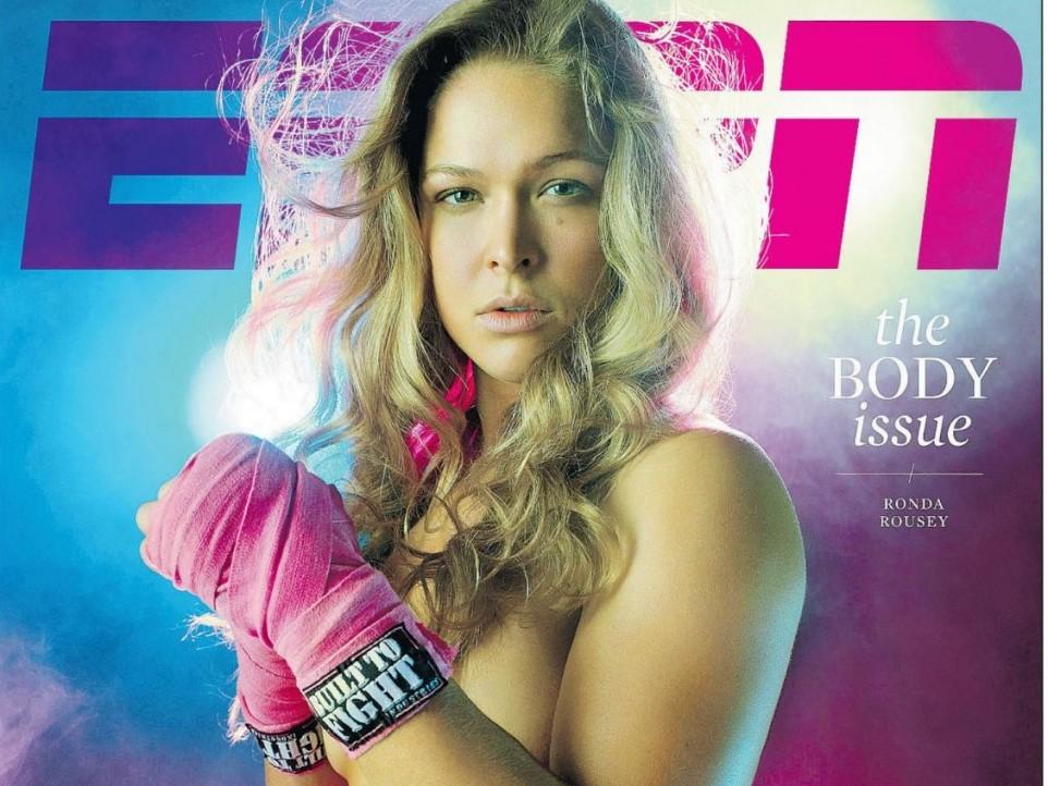 Ronda Rousey Espn Body Issue