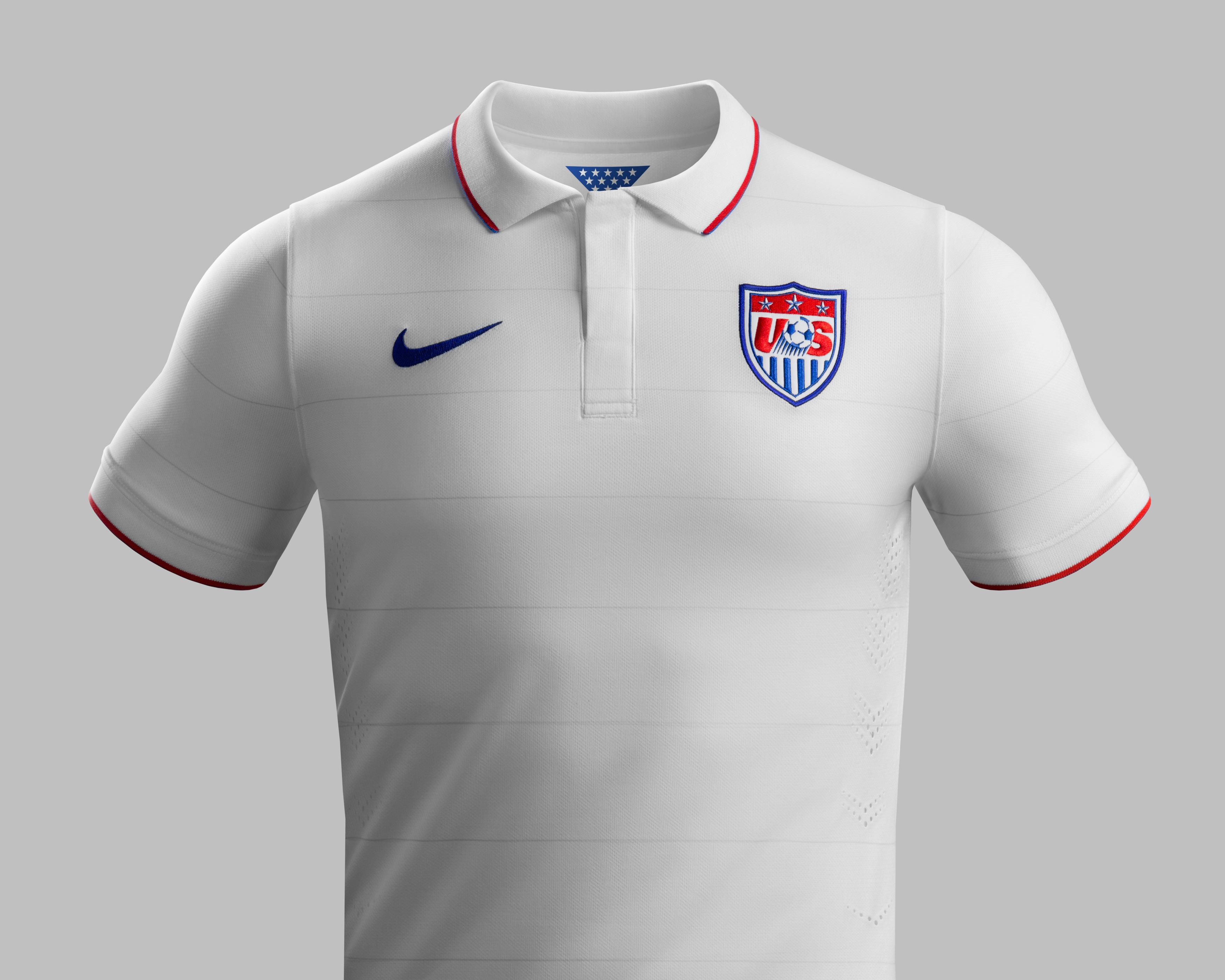 U.S. reveals 2014 World Cup jersey, and it looks like a polo shirt ...