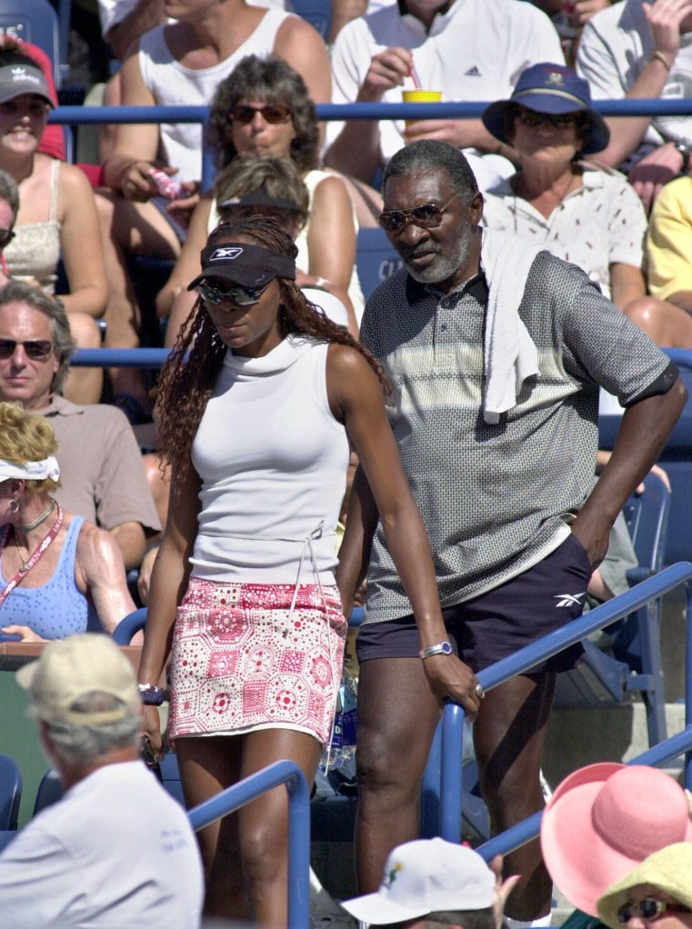 Serena And Venus Williams Father Details Indian Wells Incident In New Book For The Win