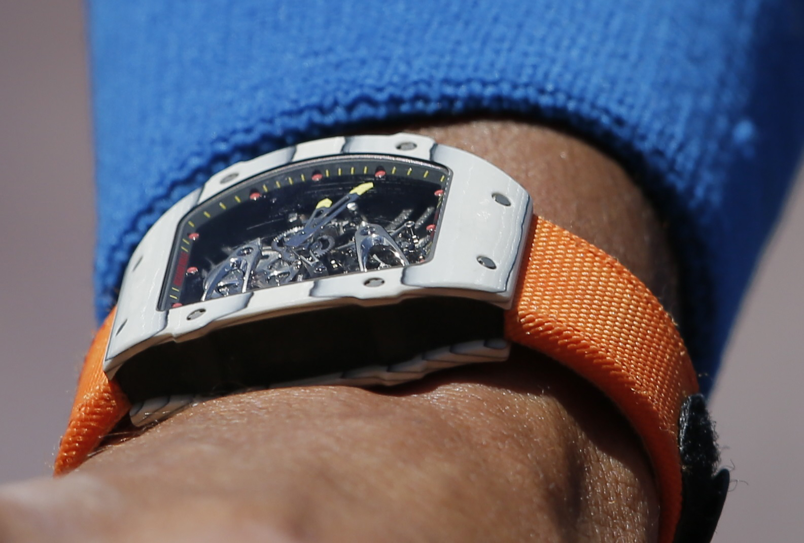 Rafael Nadal Is Wearing An 850 000 Watch At The French Open For The Win