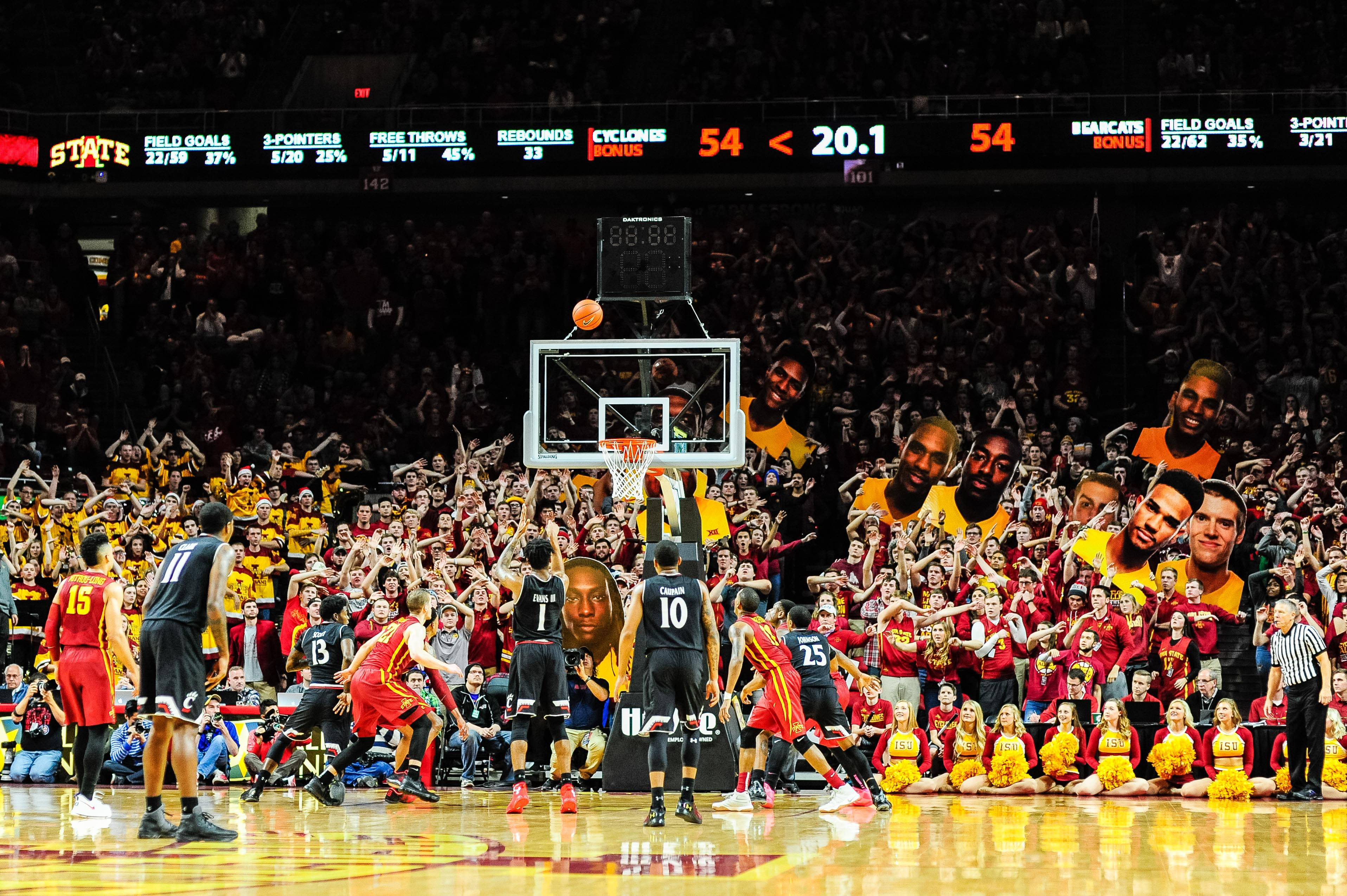 Ranking the 8 best student sections in college basketball ...
